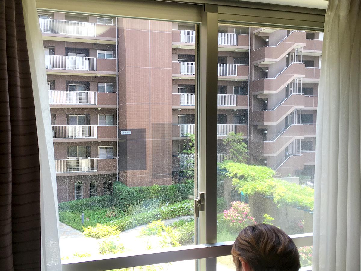 窓ガラスの熱割れ現象について